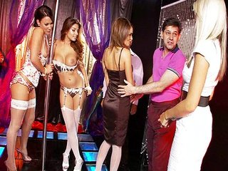 Gemma Massey's strip club orgy
