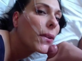 Tinder Date gets cum blasted and likes it