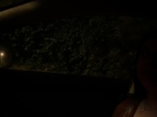Teen ditched on tinder date gives blowjob for ride home.