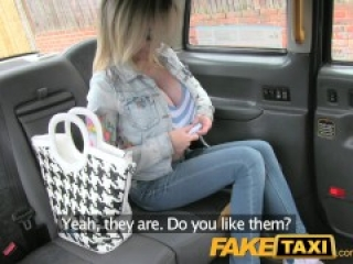 FakeTaxi Petite lady with big tits gets down and dirty