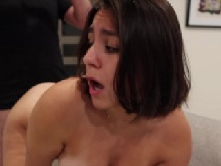 Tinder date stretches my little pussy (HUGE CUMSHOT)