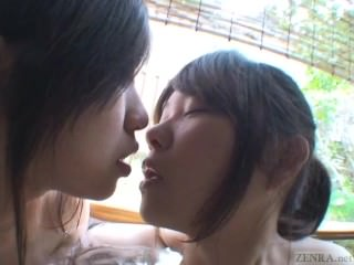 Subtitles Japanese lesbians foreplay in bath