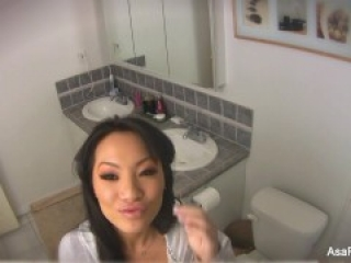 Home Video Bathroom Play With Asa Akira