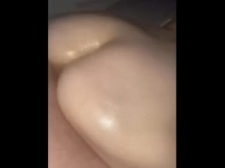 Oiled MILF tinder date takes big cock