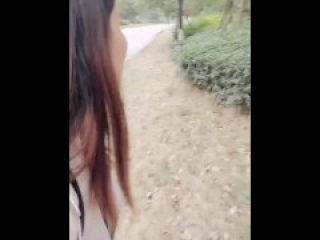 Chinese Cam Girl 刘婷 LiuTing - Outdoor Sex 02