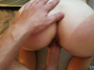 Bubble Butt Tinder Date Spanked Doggystyle