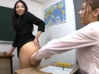 Japanese ass lez