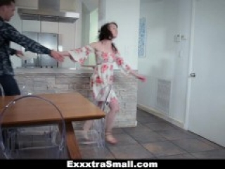 ExxxtraSmall - Tiny Small Pussy Stretched Out By Huge Cock