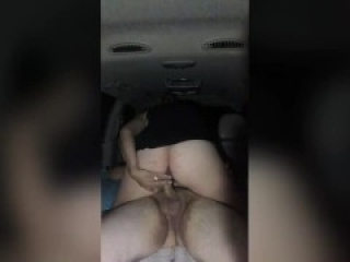 Cheating wife fucks tinder date in truck public park