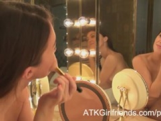 Your French mistress gets a POV facial after a Vegas date