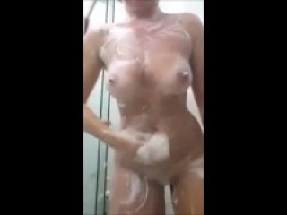 Shy tinder date flashing and POV riding my cock